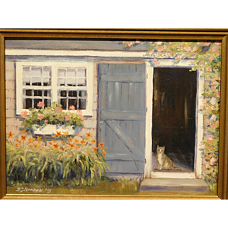 B.J. Borden: Cat in Doorway