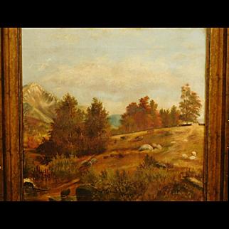 E.R. Bullard: Farm Landscape