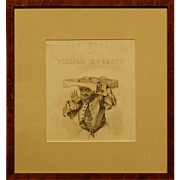 William Hogarth Title Page By J. Moore