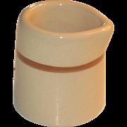 Early Shenango Pottery Newcastle Short Individual Creamer Restaurant Ware