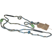 Ancient Egyptian Faience Bead Necklace circa 900-600 BC