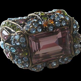 Heidi Daus Designer Jewelled Dragonflies Damselfly Ring