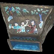 Antique 20TH Century Enamel Bowl Chinese