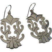 Stunning Sterling Silver Earrings Mexico