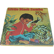 Vintage Whitman Little Black Sambo Children's Book by Violet LaMont Illustrated