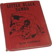 Little Black Sambo by Helen Bannerman  Wee Book Published by Platt & Munk Cir 1935