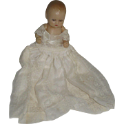 LAST TWO WEEKS Vintage Nancy Ann Storybook Jointed Hard Plastic Baby Doll Sleep Eyes Original Gown