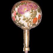 Fabulous Vintage Satsuma Hat Pin