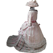 Original 19thC Fashion doll outfit.