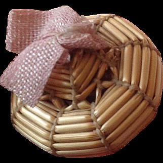 Miniature 19thC Bourrelet for mignonette