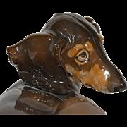 Rosenthal Germany Porcelain Dog Figurine by Theodor Karner