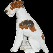 Rosenthal Germany Porcelain Sitting Terrier Dog Figurine