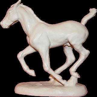 Rosenthal Hussmann Running Foal Horse