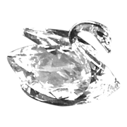 Swarovski Crystal Swan 1970