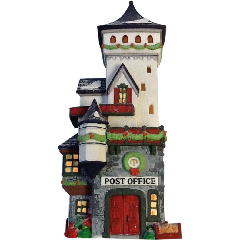 Items Similar To Vintage Santa S Workbench Dickens Choir: Dept. 56 North Pole Village Post Office SOLD On Ruby Lane