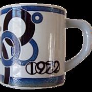 Royal Copenhagen Large 1972 Annual Mug