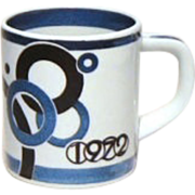 Royal Copenhagen Small 1972 Annual Mug