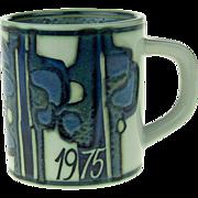 Large Royal Copenhagen Annual Mug 1975