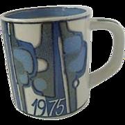 1975 Royal Copenhagen Small Annual Mug
