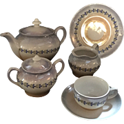 German Childs China Tea Service