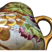 Limoges Porcelain Cider Pitcher