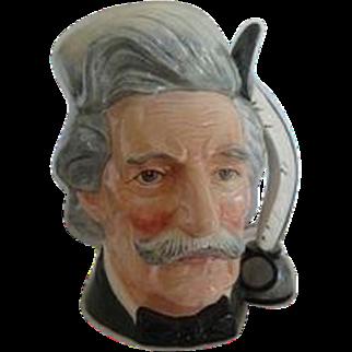 Royal Doulton Character Jug, Mark Twain