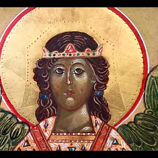 Original Russian Byzantine Icon