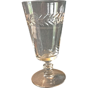 Vintage Crystal  Sherry/Juice glasses.