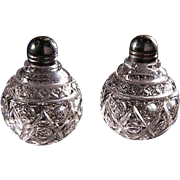 Cape Cod Imperial Round Salt and Pepper