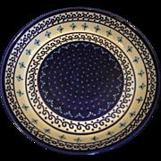 Boleslawiec Polish Pottery Pie Plate