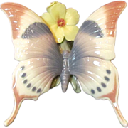 "Lladro Butterfly ""A Moment of Rest"" 6173"