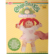 Cabbage Patch Kids Paper Doll NIB