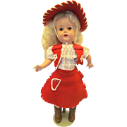 1951 Artisan Raving Beauty Doll in Western Outfit