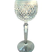 Waterford Crystal Alana Pattern Hock Wine - Red Tag Sale Item