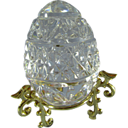 Waterford Crystal Annual Egg 1990 - First Edition