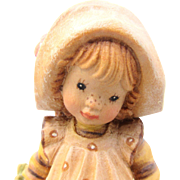 Anri Sarah Kay Flowers For You Hand Carved Figurine LE
