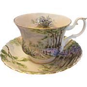 Royal Albert Bluebell Wood Cup and Saucer