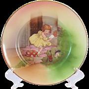 "Little Miss Muffet 6"" Royal Bayreuth Plate"