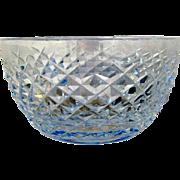 Waterford Crystal Ireland Alana Pattern Finger Bowl