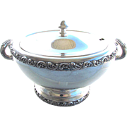 Victorian Rogers Smith Silverplate Soup Tureen