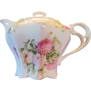 Unmarked Victorian Covered Syrup pitcher