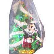 Mickey's Tree 1995 LE Christopher Radko Christmas Ornament New