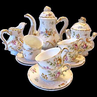 Antique Haviland Limoges Tea Set 1880-1900