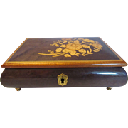 Reuge Music Jewelry Box Chariots of Fire