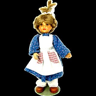 Sarah Kay Anri Katherine Woodcarved Doll 1988