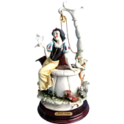 Giuseppe Armani Snow White At The Well Limited Edition 552/2000