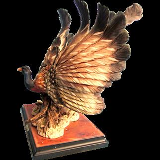Rare Great Argus Pheasant Giuseppe Armani Figurine 717/s 82/3000