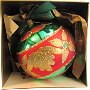 Ashling Ball Waterford Holiday Heirloom Nostalgic Collection Limited Series 1997