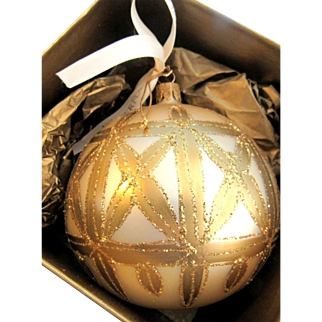 Avoca Snow Time Ball Waterford Holiday Heirlooms Winter Wonderland Collection