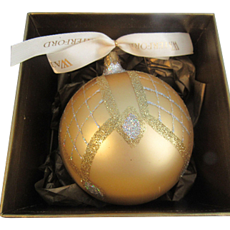 Waterford Holiday Heirlooms Opulence Kylelmore Festival Ball Ornament